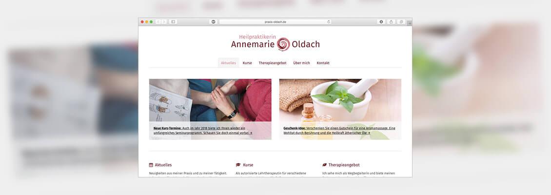 Darf ich vorstellen? Meine neue Website!